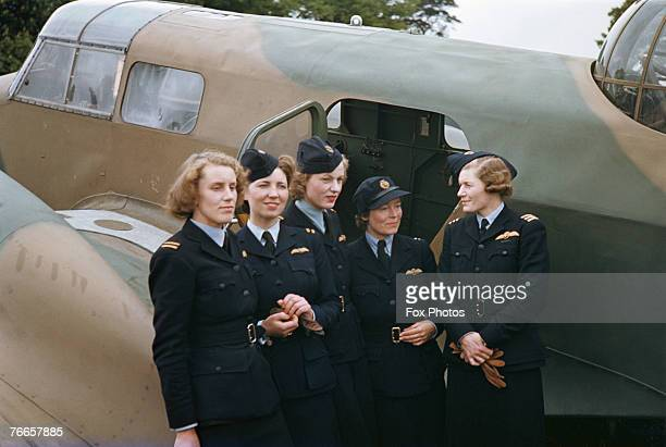 Women pilots of the Air Transport Auxiliary circa 1943 From 1941 the ATA took on the roles of Royal Air Force ferry pools transporting aircraft...