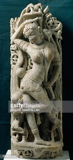 Women playing ball relief from Guila Rajasthan India Indian Civilisation 10th11th century