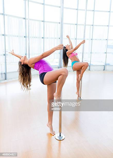 Femme de pole dance