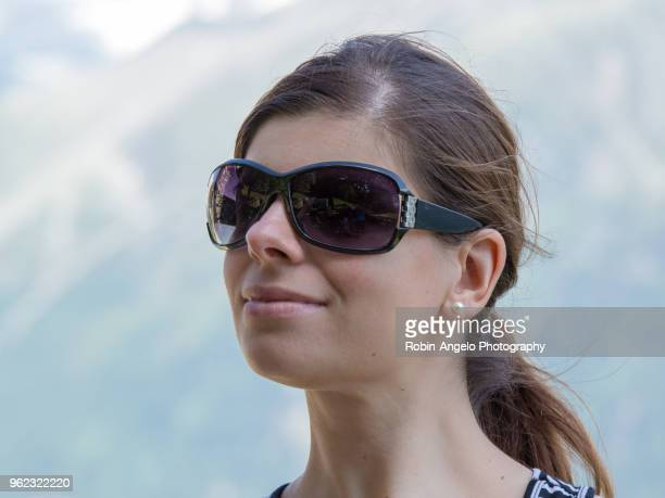 A women portrait on a sunny day