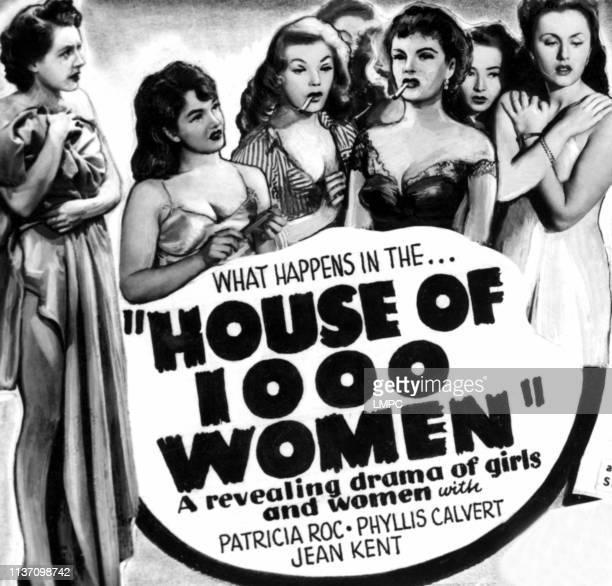 Women poster Phyllis Calvert Dulcie Gray Anne Crawford Renee Houston Jean Kent Patricia Roc 1944