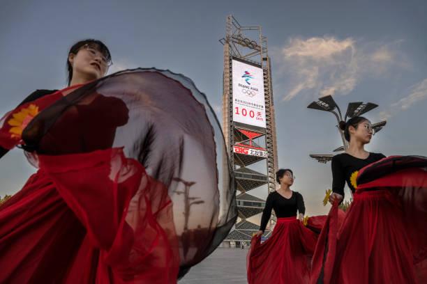 CHN: Beijing 2022 Winter Olympics Set Open In 100 Days
