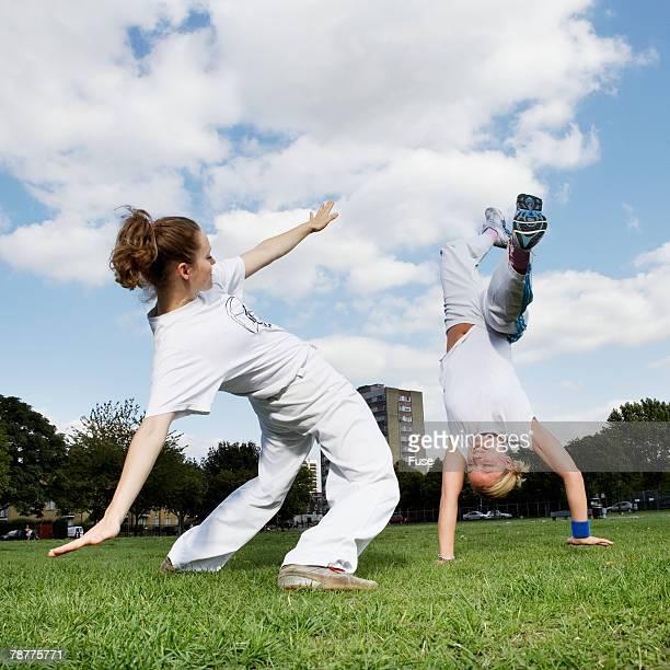Women Practicing Dancing