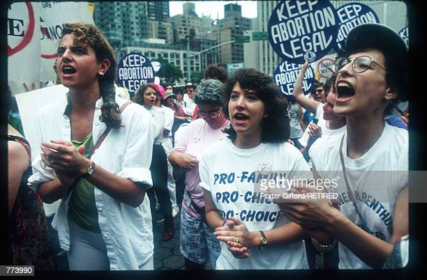 Women protest at the National Organization for Women ProChoice rally June 15 1991 in New York City In 1967 NOW became the first national organization...