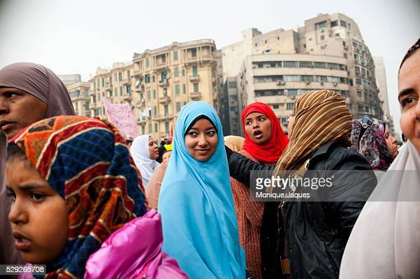 Women protest in Tahrir square on November 26th 2011 Increasing tension bubbled over in Egypt a week before the countries first parliamentary...