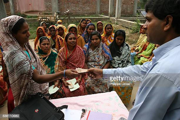 Women Receiving Loans From Grameen Bank