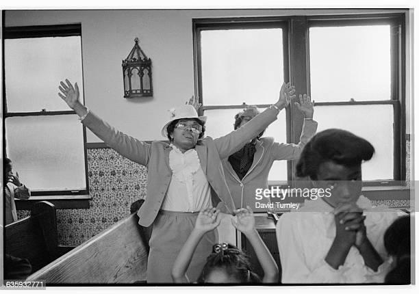 Women Rejoicing in Church