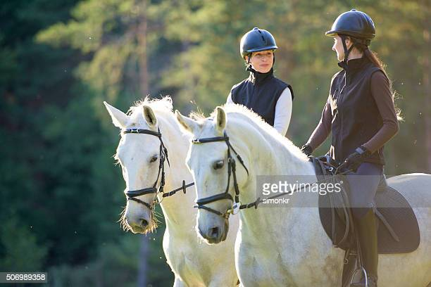 women riding horses - riding hat stock pictures, royalty-free photos & images
