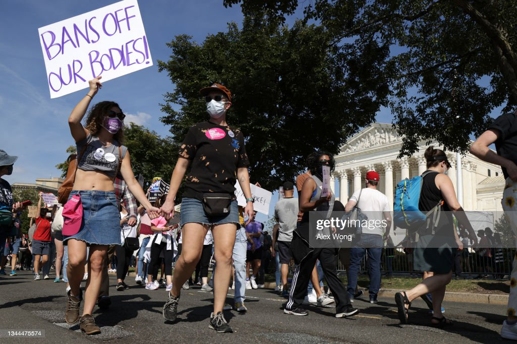 Marches Held Nationwide In Support Of Reproductive Rights : News Photo