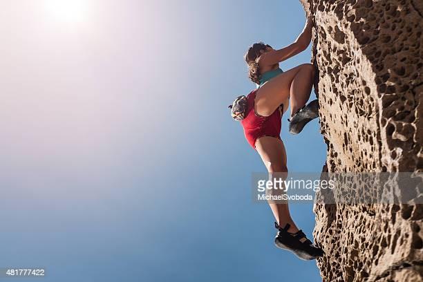 Women Rockclimber