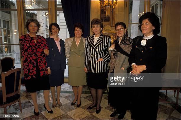 Women Secretaries Of State On March 08thIn ParisFrance