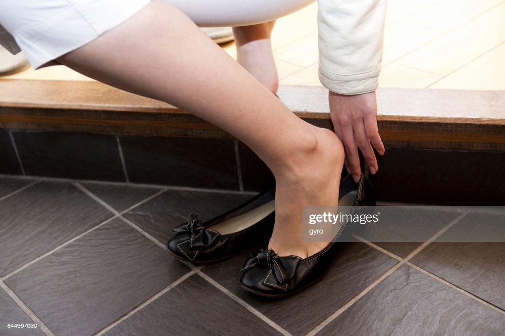 Women shoes : Stock Photo