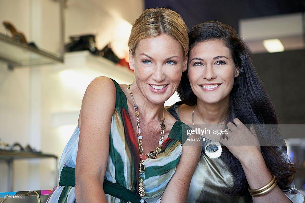 Women shopping : Stock Photo