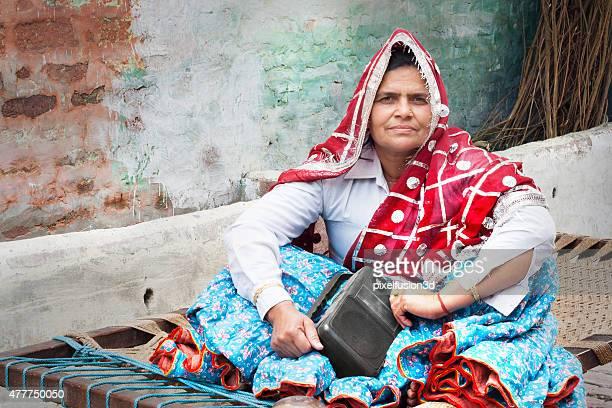 Women Sitting Portrait