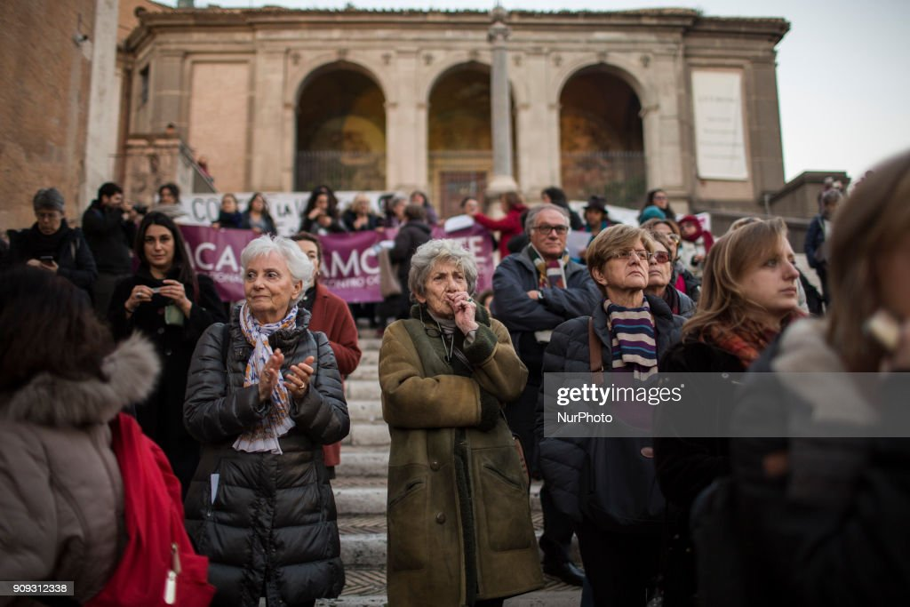 'Non Una Di Meno' - women protest in Rome