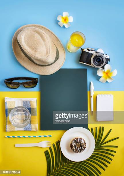 women summer travelling objects still life. - group of objects stock pictures, royalty-free photos & images