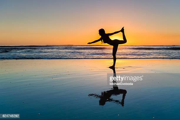 Women Sunset Yoga