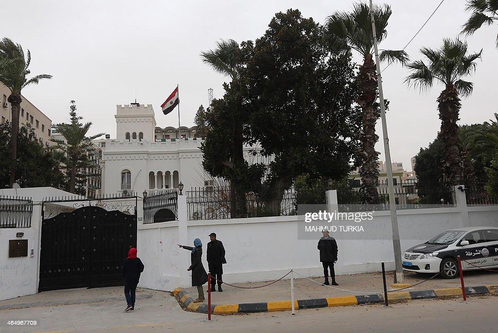 LIBYA-EGYPT-DIPLOMACY-KIDNAP : News Photo