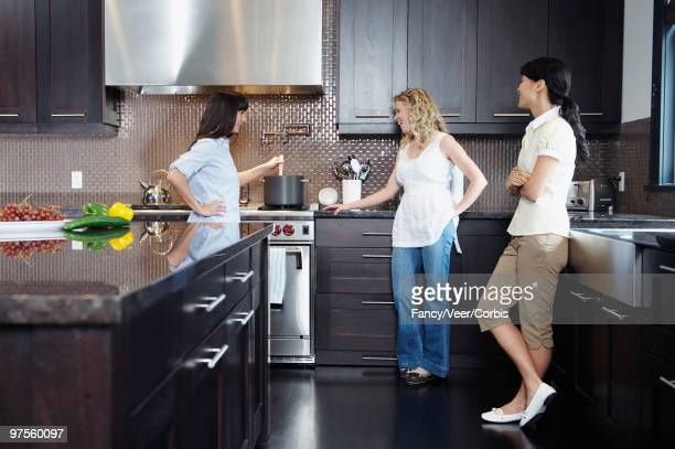 Women together in the kitchen