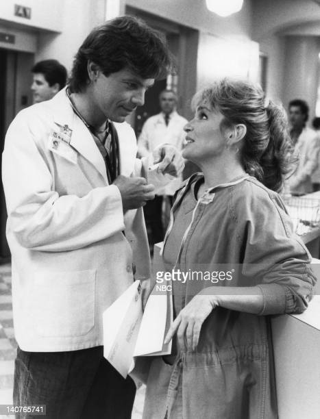 """Women Unchained"""" Episode 20 -- Pictured: Bruce Greenwood as Dr. Seth Griffin, Sagan Lewis as Dr. Jacqueline Wade -- Photo by: Ron Batzdorff/NBCU..."""