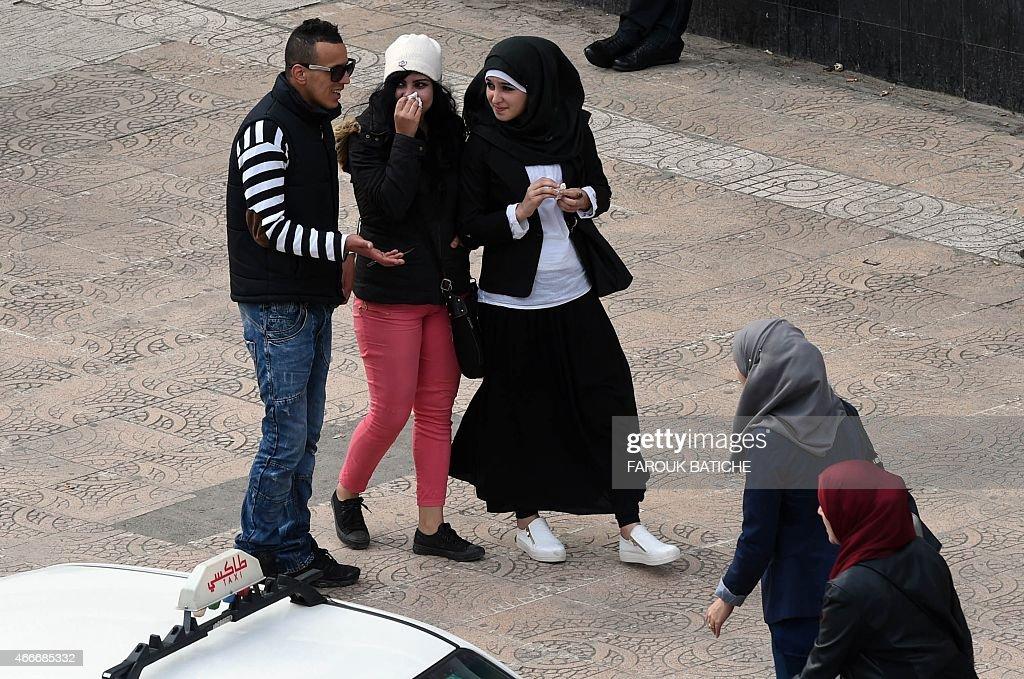 ALGERIA-JUSTICE-SOCIAL-WOMEN : News Photo