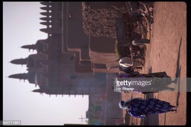 Women Walking in Djenne