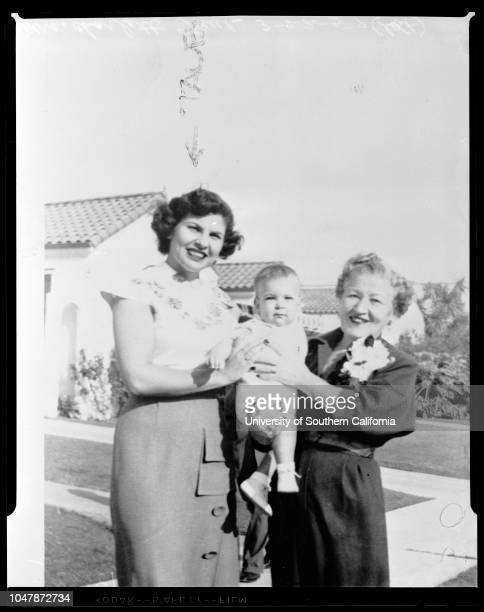 Women wanted on grand theft charges, 22 March 1957. Mrs Charlotte Taub .;Caption slip reads: 'Photographer:Emery Date: . Reporter: Phister and Jack...