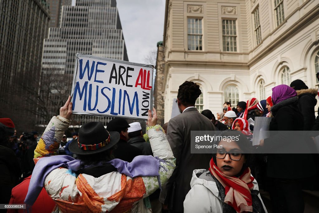 World Hijab Day Marked In New York City With A Rally At City Hall : News Photo