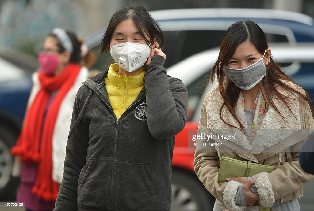 CHINA-ENVIROMENT-POLLUTION : News Photo
