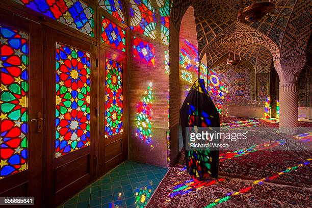 Women wearing chaddor at Nasir-al-Molk Mosque