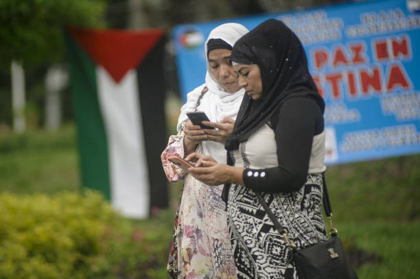 SLV: Pro-Palestine Protest In El Salvador