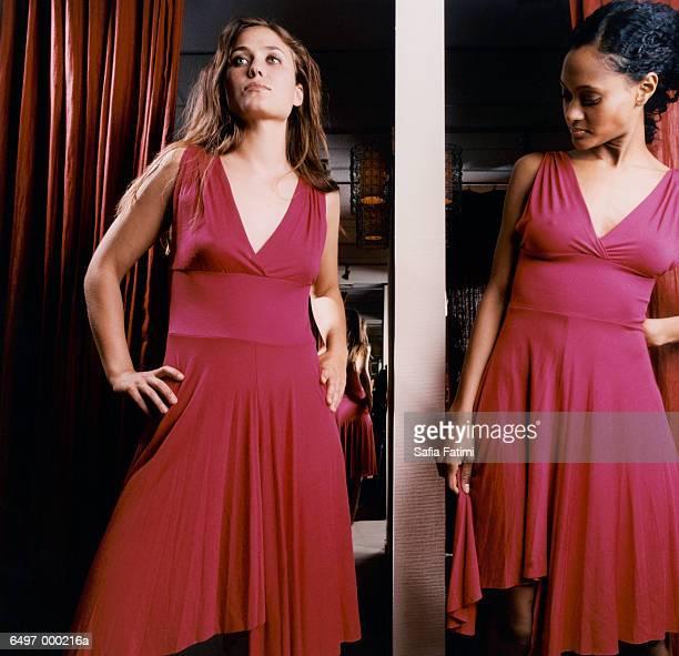 Women Wearing Same Dress