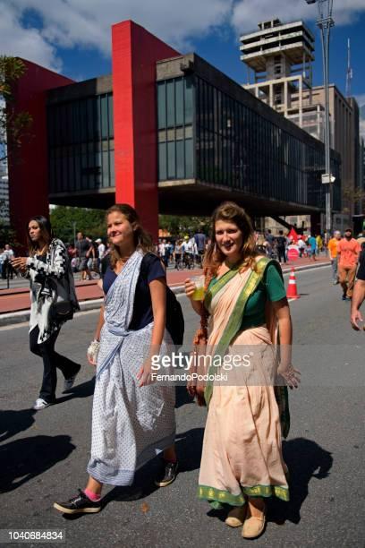 Women Wearing Sarongs, São Paulo - Brazil
