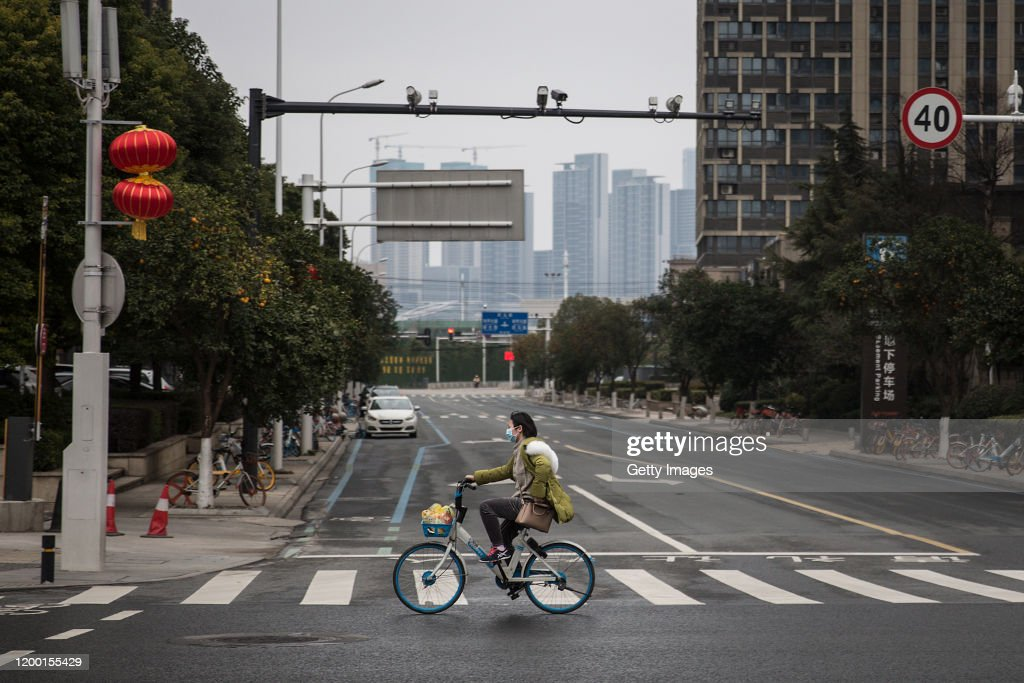 Daily Life In Wuhan During Lockdown : News Photo