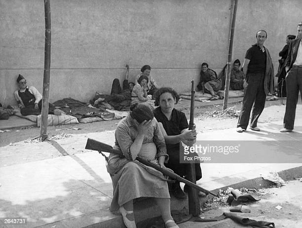 Women were among the Republican combatants during the Spanish Civil War