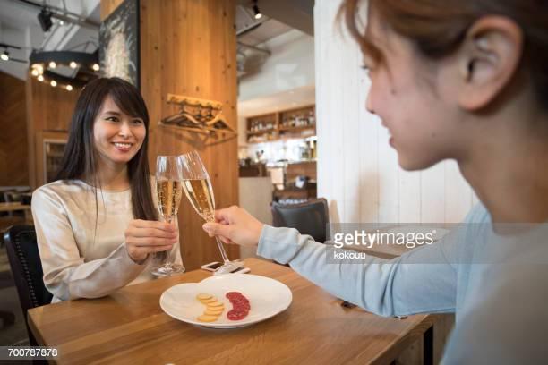 Women who speak in the Café