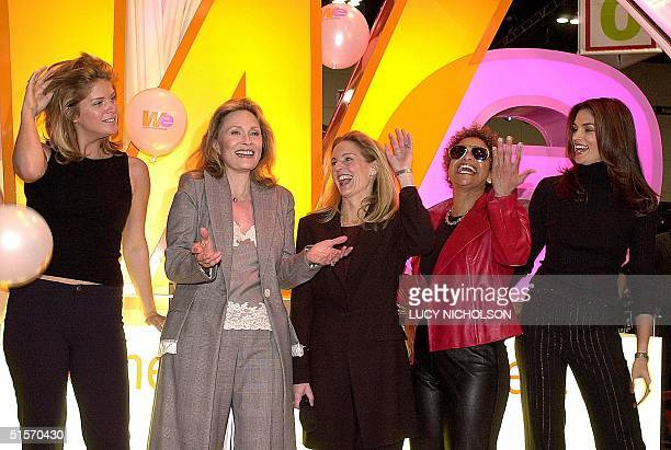 Women who will appear on Women's Entertainment launch the new cable network New Zealandborn supermodel Rachel Hunter actress Faye Dunaway Network...