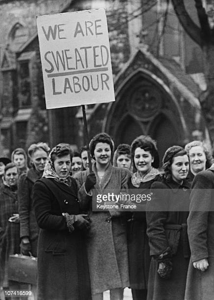 Women Workers Protest In England