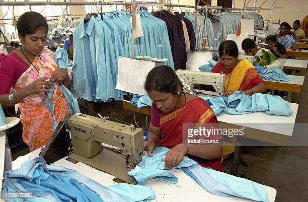 Women working in a factory India