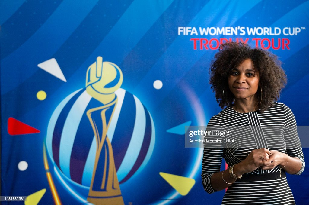 FRA: FIFA Women's World Cup Trophy Tour Kick-Off & Handover