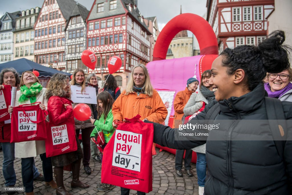 DEU: Germany Marks Equal Pay Day