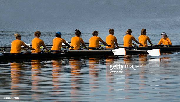 Women's 8 Person Rowing Team