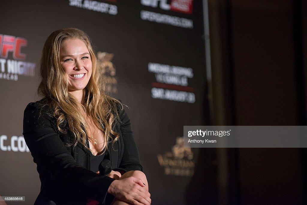 UFC Hong Kong Media Day : News Photo