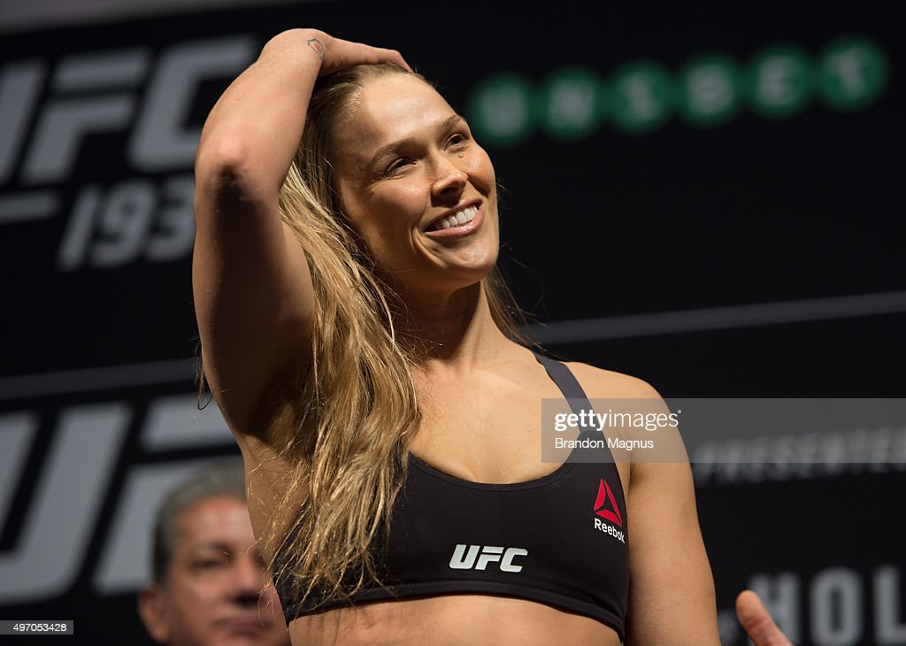 UFC 193 Weigh-in