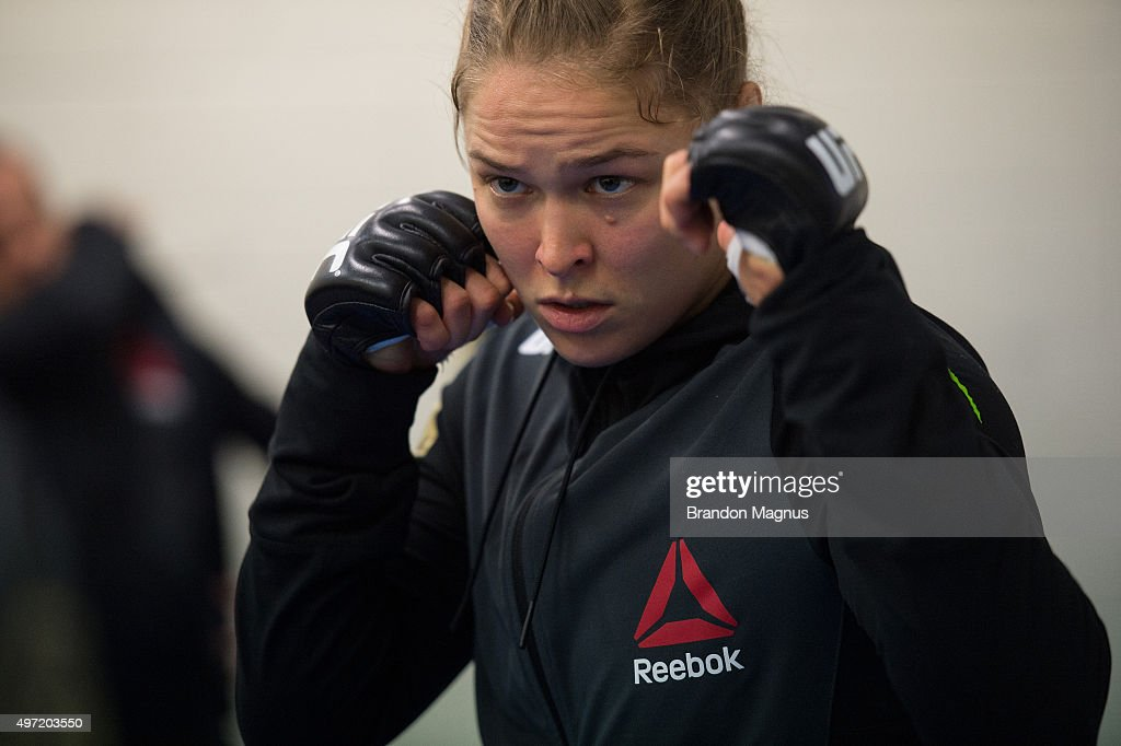 UFC 193: Rousey vs Holm : News Photo