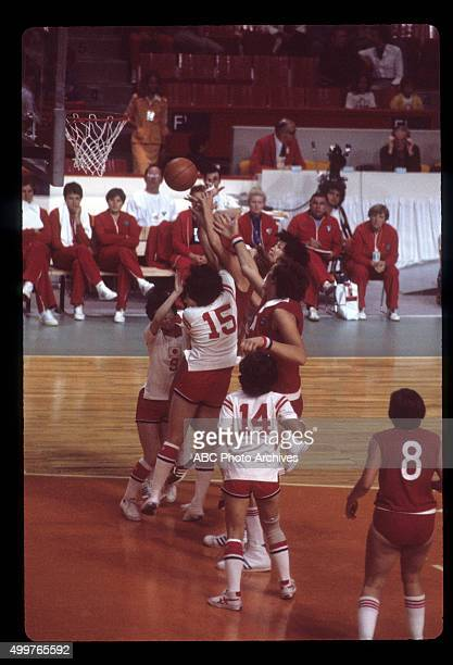 OLYMPICS Women's Basketball The 1976 Summer Olympic Games aired on the ABC Television Network from July 17 to August 1 1976 Shoot Date July 23 1976...