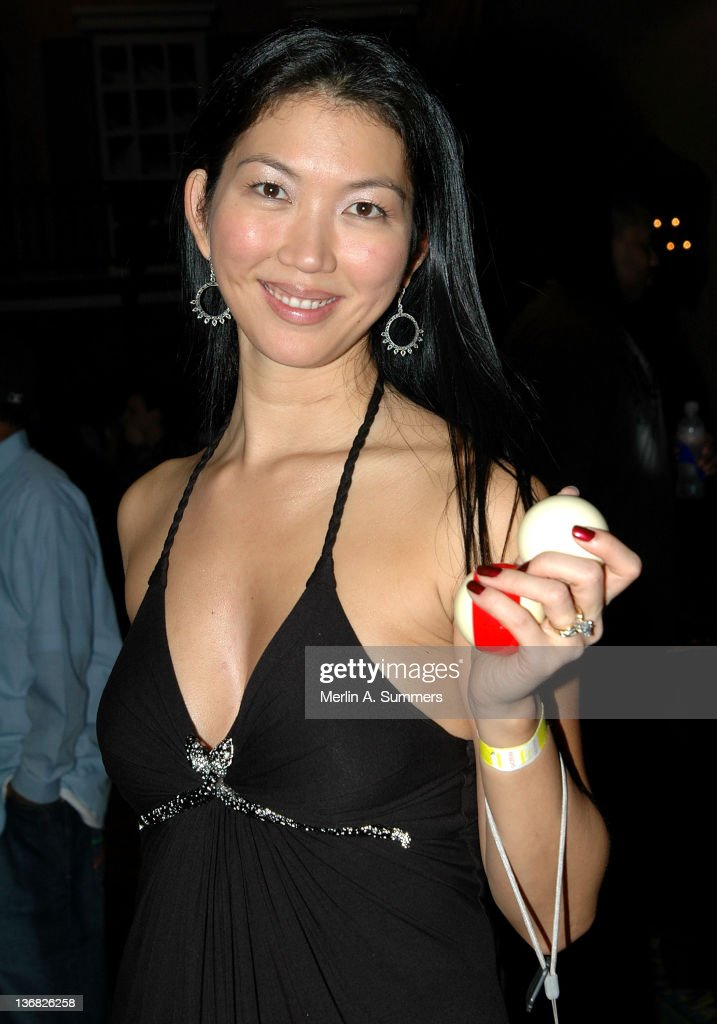Women's Billiards Champ Jeanette Lee pose during 'Vitaminwater Sponsors The Big Easy Billiards Bash and Afterparty with Shaquille O'Neal and Reggie Bush' on February 15, 2008 in New Orleans, Louisiana.