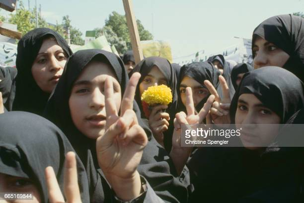 Women's Day in Iran.