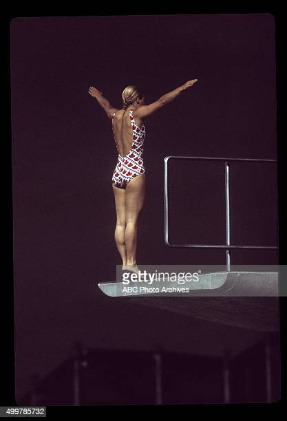 OLYMPICS Women's Diving The 1976 Summer Olympic Games aired on the ABC Television Network from July 17 to August 1 1976 Shoot Date July 20 1976 WOMEN
