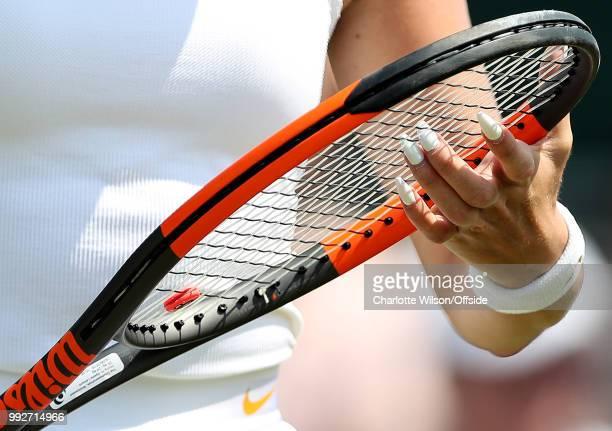 Womens Doubles Mandy Minella Anastasija Sevastova v Georgina Garcia Perez Fanny Stollar The long white nails of Fanny Stollar poke through the...